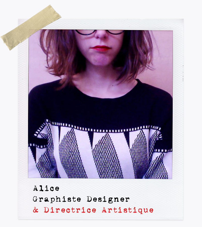 Les Affranchis - Alice : Graphiste Designer, Directrice Artistique