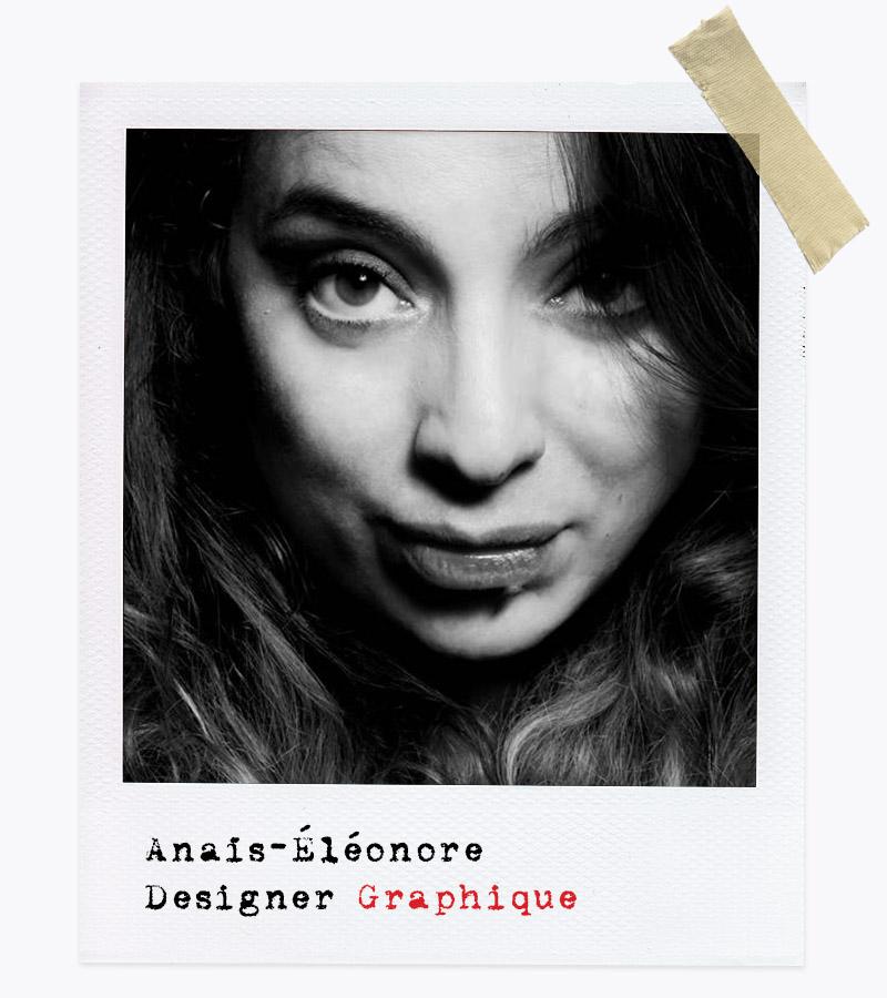 Les Affranchis - Anaïs-Éléonore, Designer Graphique