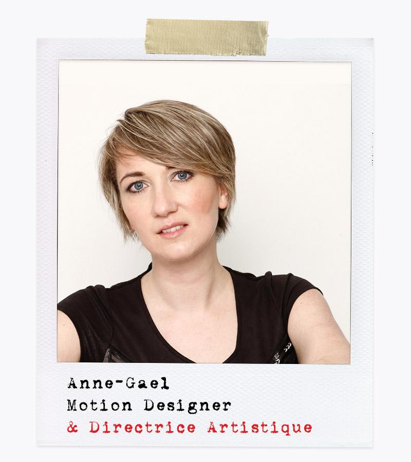Les Affranchis - Anne-Gael, Motion Designer & Directrice Artistique