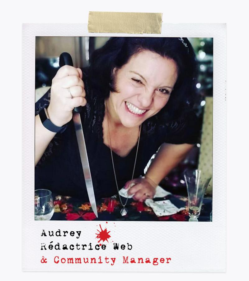 Les Affranchis - Audrey, Rédactrice Web & Community Manager