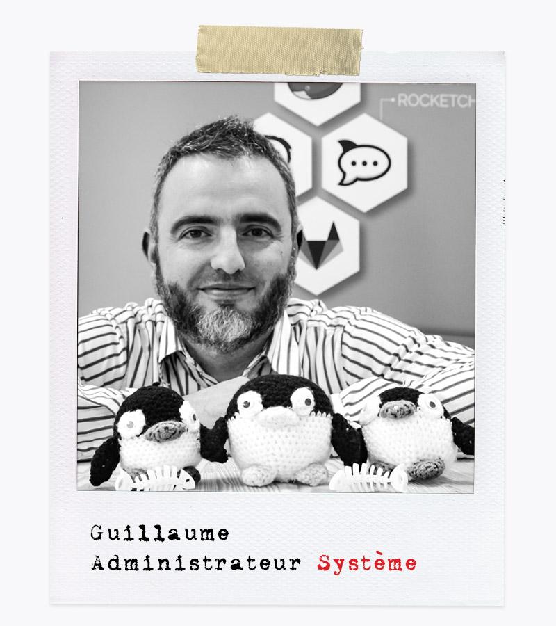 Les Affranchis - Guillaume, Administrateur Système
