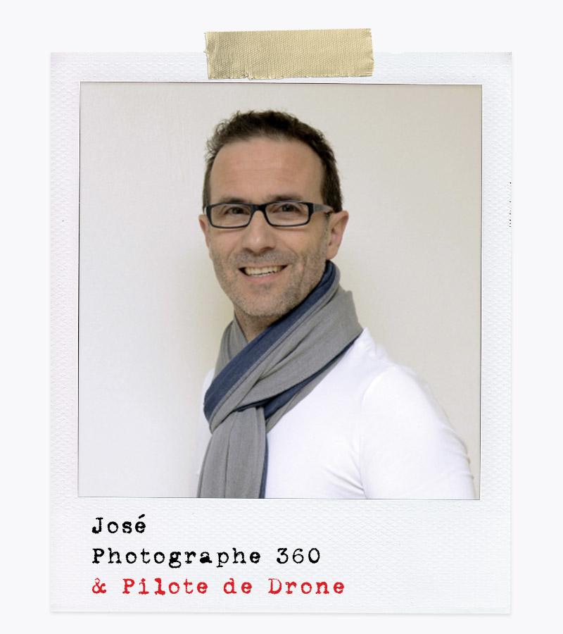 Les Affranchis - José, Photographe 360 & Pilote de Drone