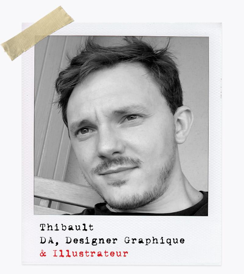 Les Affranchis - Thibault, DA, Designer Graphique & Illustrateur