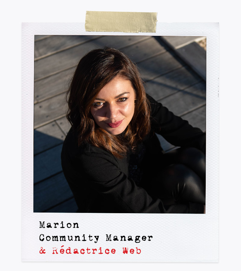 Les Affranchis - Marion, Community Manager & Rédactrice Web